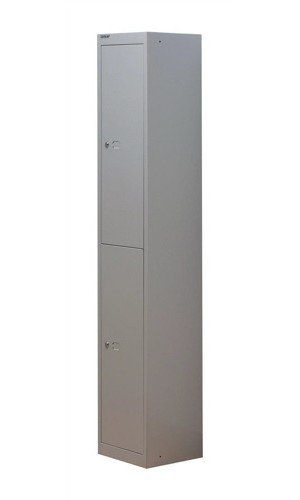 Bisley 2 Door Locker 305mm Goose Grey