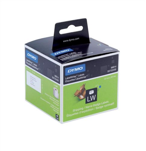 Dymo Shipping or Name Badge Labels 54x101mm Permanent [Pack of 220]