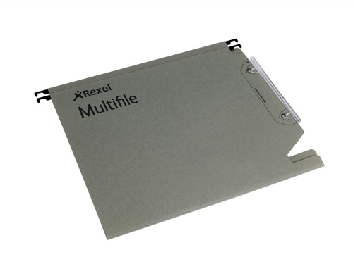 Rexel Multifile Lateral File Grey [Pack of 50]