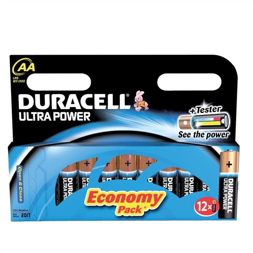 Duracell Batteries Ultra AA [Pack of 12]