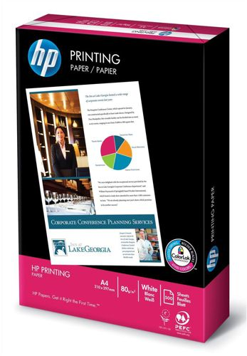HP Printing Paper A4 80g White [Pack of 2500]