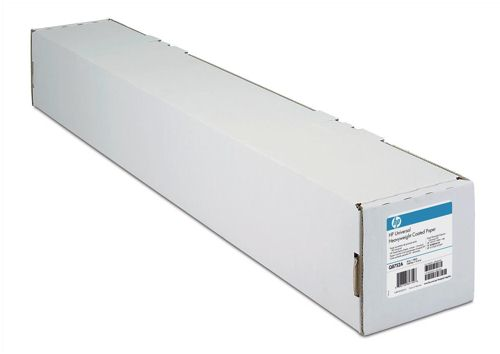 "HP C6567B Bright White 42"" Coated Paper Roll"