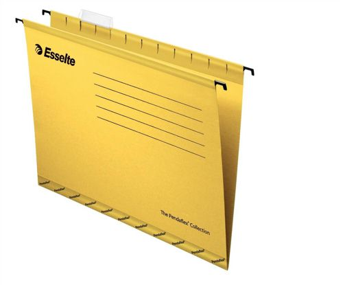 Esselte Pendaflex Economy File Foolscap Yellow [Pack of 25]