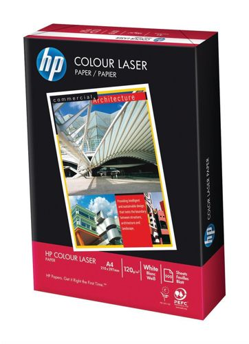 HP Colour Laser Paper A4 120g White [Pack of 250]