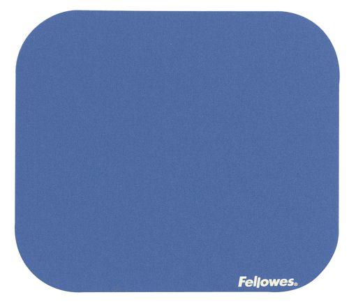 Fellowes Mouse Pad with Rubber Base Blue