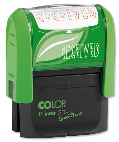 Colop Received Stamp