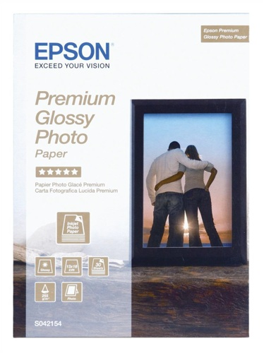 Epson S042153 Premium Glossy Photo Paper [Pack of 40]