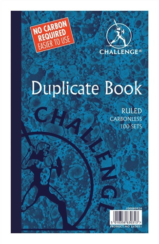 Challenge Duplicate Book 210x130mm [Pack of 5]