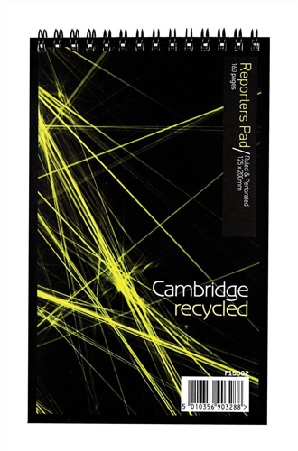 Cambridge Recycled Spiral Notebook [Pack of 10]