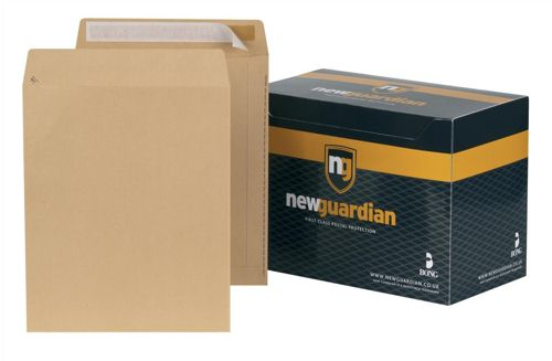 New Guardian Envelopes Press Seal 305x250mm Manilla [Pack of 250]